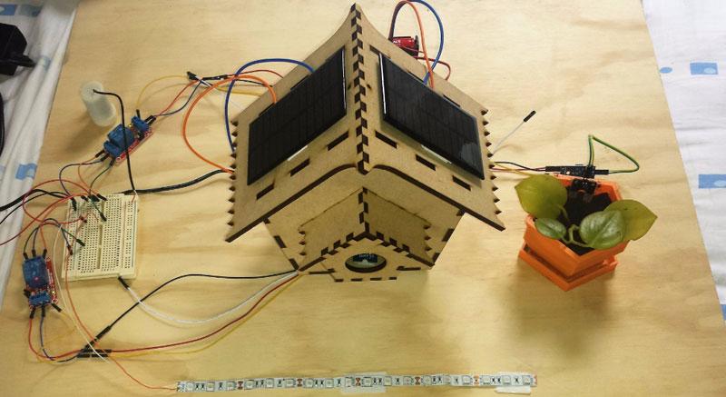 Casita inteligente para pájaros con Arduino