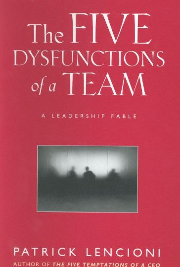 The 5 Dysfunctions Of A Team Cpc Book Club Review