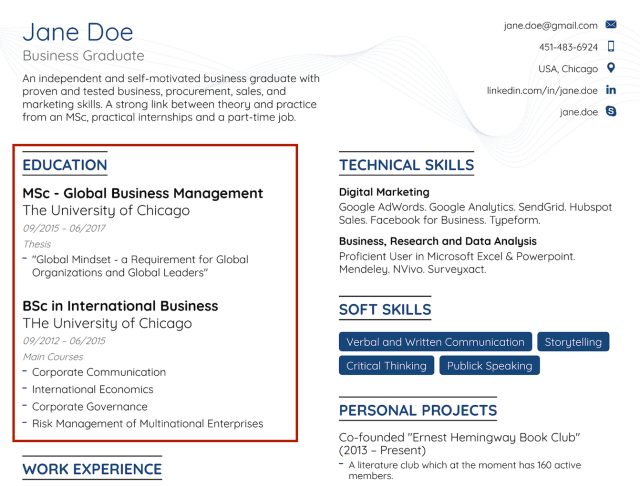 How to Write a Resume with No Experience [22+ Examples]