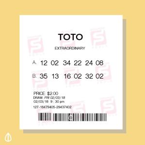 winning 12 million toto lottery
