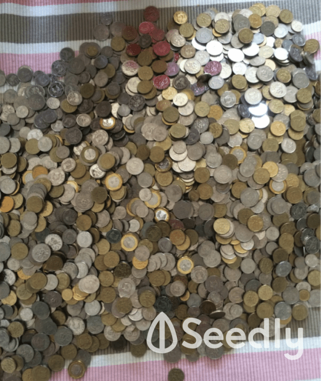 4K Worth of Coins to Deposit