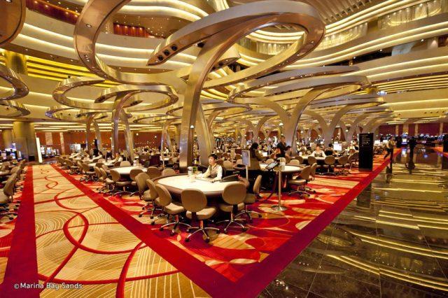 MBS casino floor