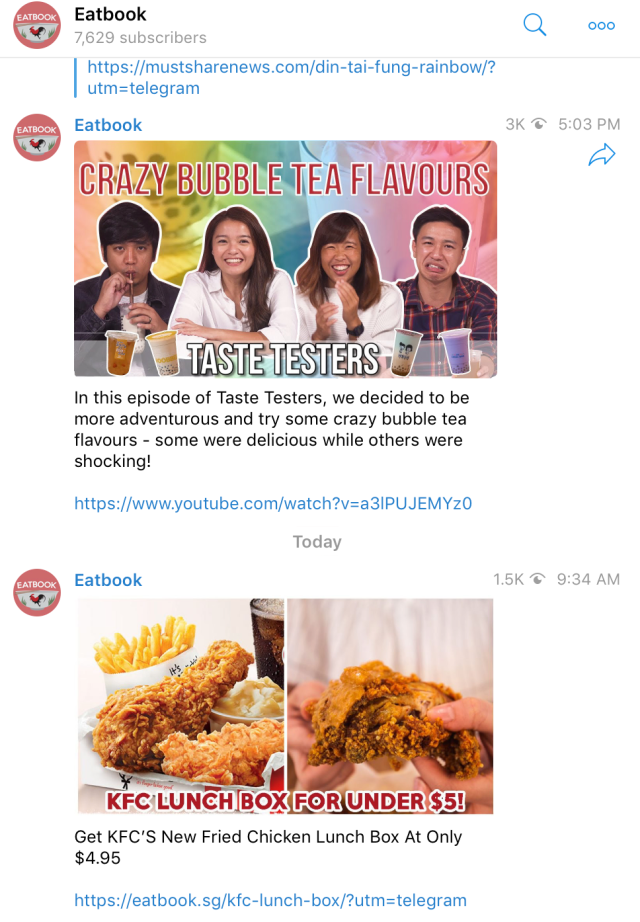 Useful Telegram Channels That Every Singaporean Needs To Join