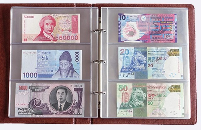 Store foreign currencies in a file