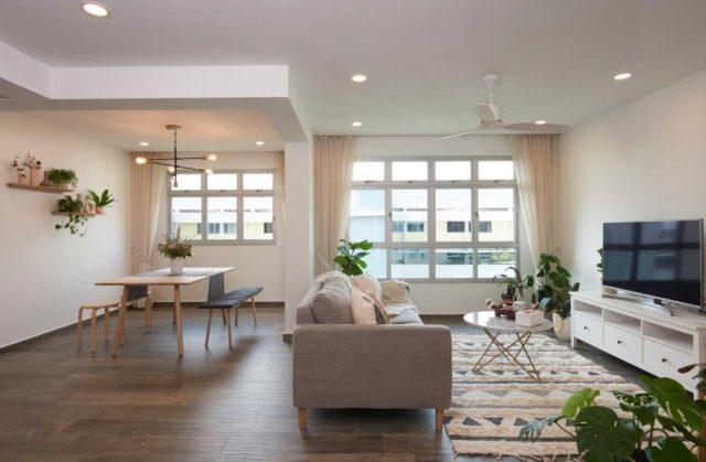HDB Apartment Living Room