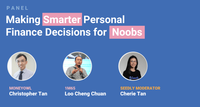 Seedly personal finance festival panel 1