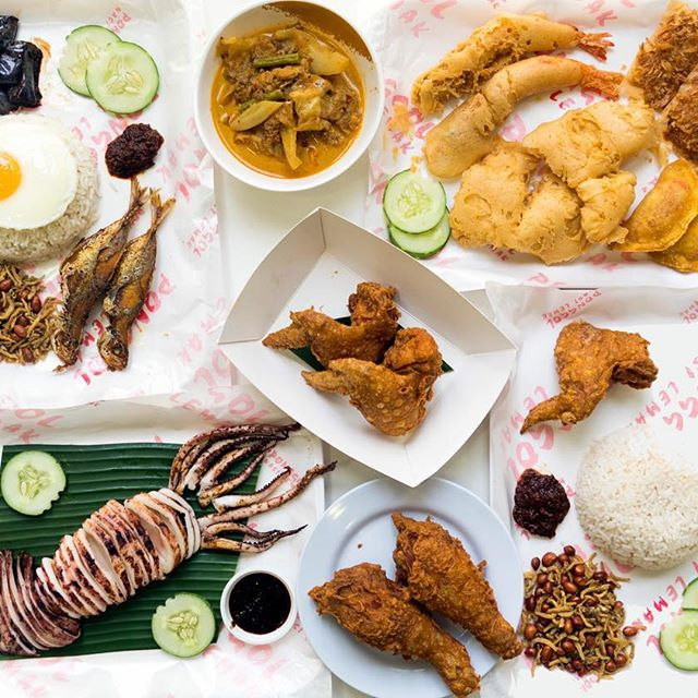 Ponggol Nasi Lemak Fried Chicken