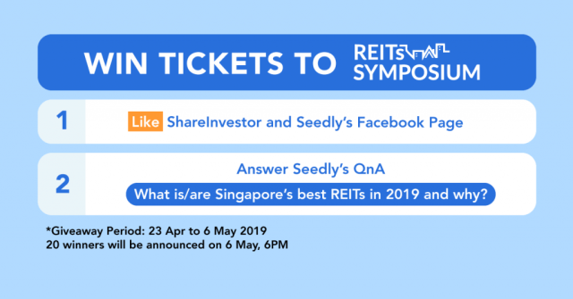 Seedly REITs Symposium Giveaway