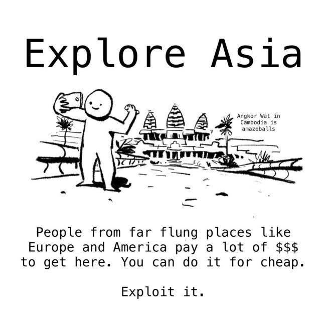 Explore Asia Woke salaryman