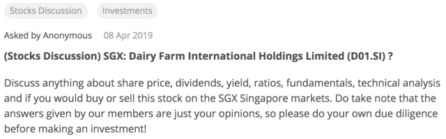 Screen Shot of Seedly Dairy Farm Q&A