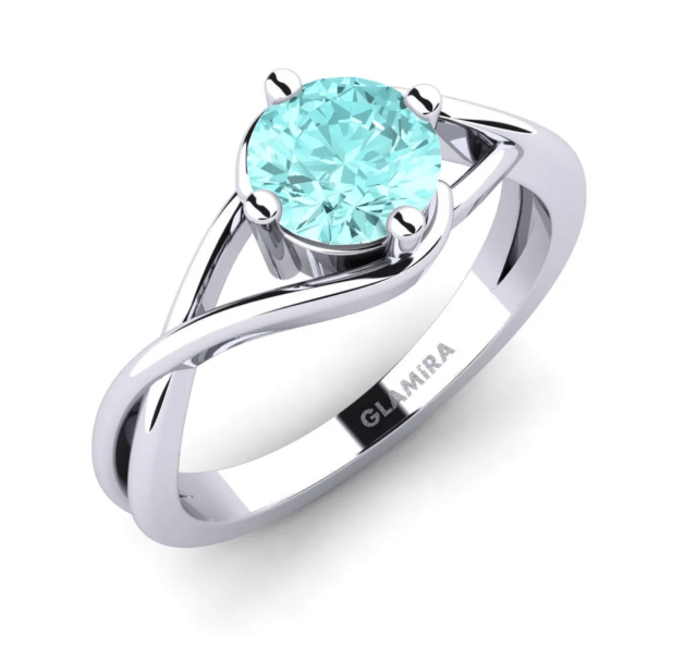 Aquamarine Engagement Ring Singapore