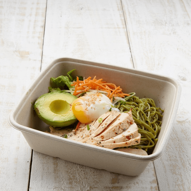 Soba, rice bowls and salads from Wheat Baumkuchen