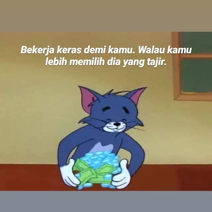 10 Meme Lucu Sadboy Tom Si Kucing Ini Menghibur Kamu Yang Ambyar