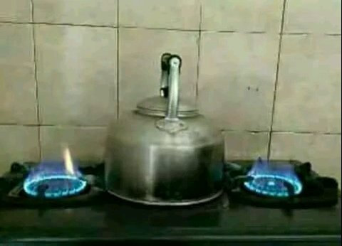 aksi kocak masak air © Berbagai Sumber