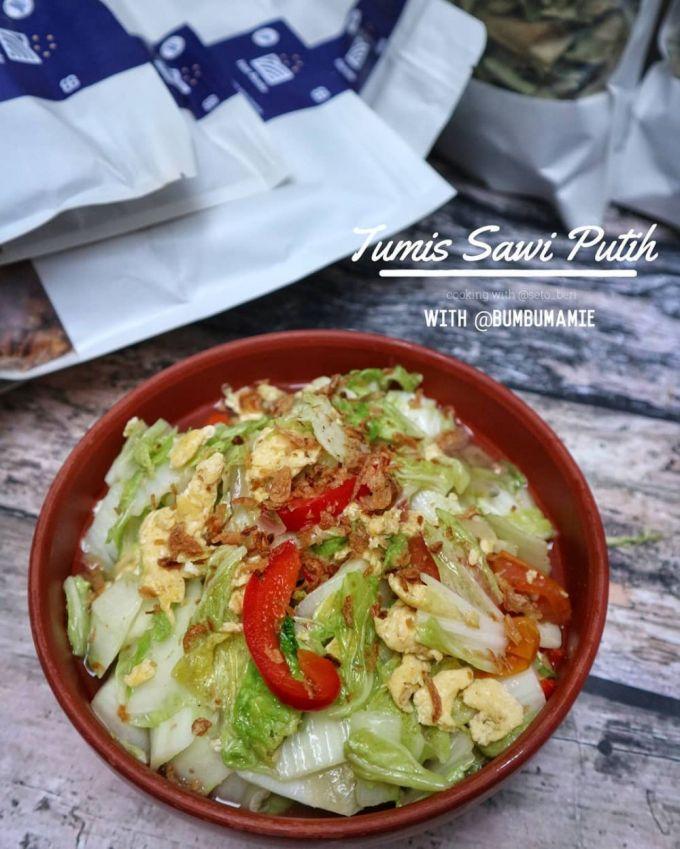 Resep sayur sawi putih dengan berbagai bahan © Instagram