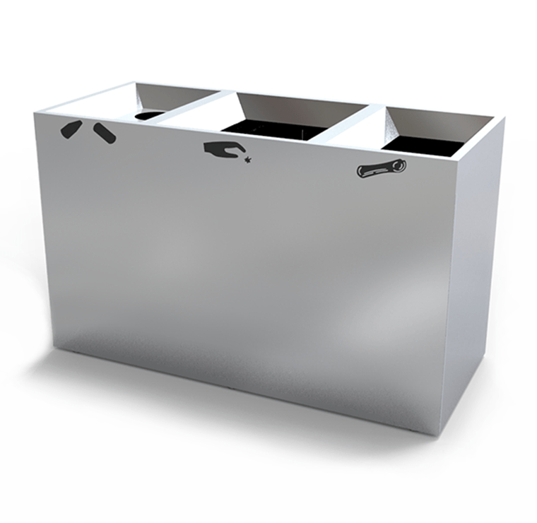 Stainless Steel Recycling Bins Crc 792 Canaan