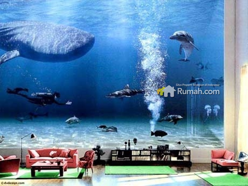 aquarium besar milik bill gates