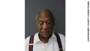 Bill Cosby's mugshot was taken on Tuesday, Sept. 25 as he was being processed into the Montgomery County Correctional Facility.