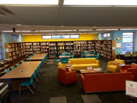 Interior view of Allerton Library