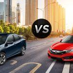 2016 Honda Civic Lx Vs 2016 Honda Civic Ex