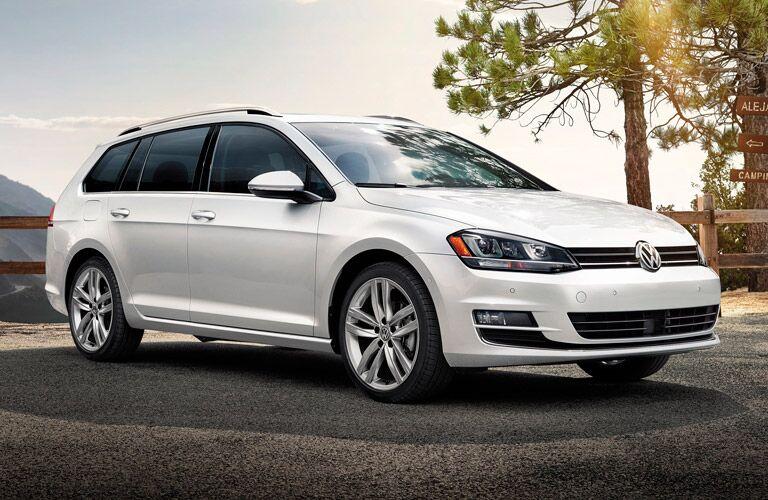 Image result for white VW golf sportwagen