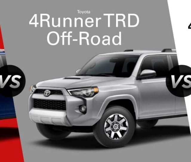 Runner Sr Toyota Runner Trd Off Road Vs Runner Limited