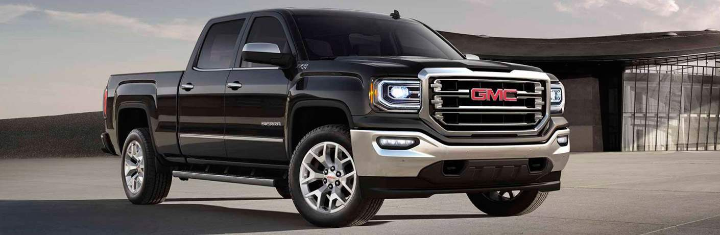 October 2017 sales incentives in Bozeman  MT 2017 GMC Sierra front right quarter view Billion Auto Group offers  incentives on the truck for