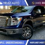 Used 2019 Nissan Titan Xd For Sale Trust Auto Sykesville Md