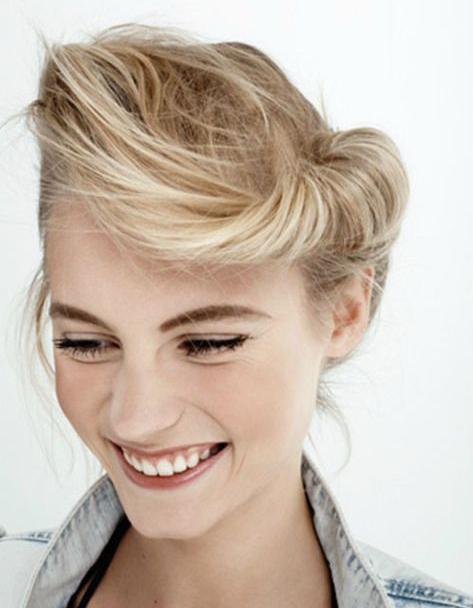 cheveux courts coiffure vintage