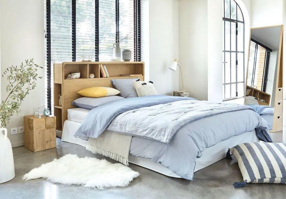 de lit avec rangement