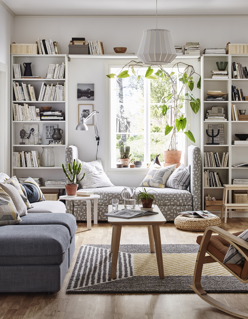 Ikea La Cultissime Bibliotheque Billy A 40 Ans Retour En Images Elle Decoration