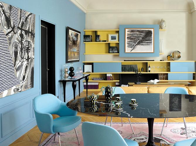 peinture salon plus de 20 couleurs canons pour le repeindre elle decoration