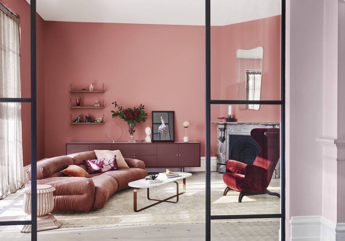 les plus beaux salons colores sont ici elle decoration