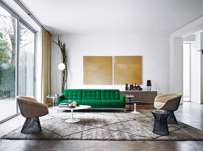 comment integrer des meubles de couleur