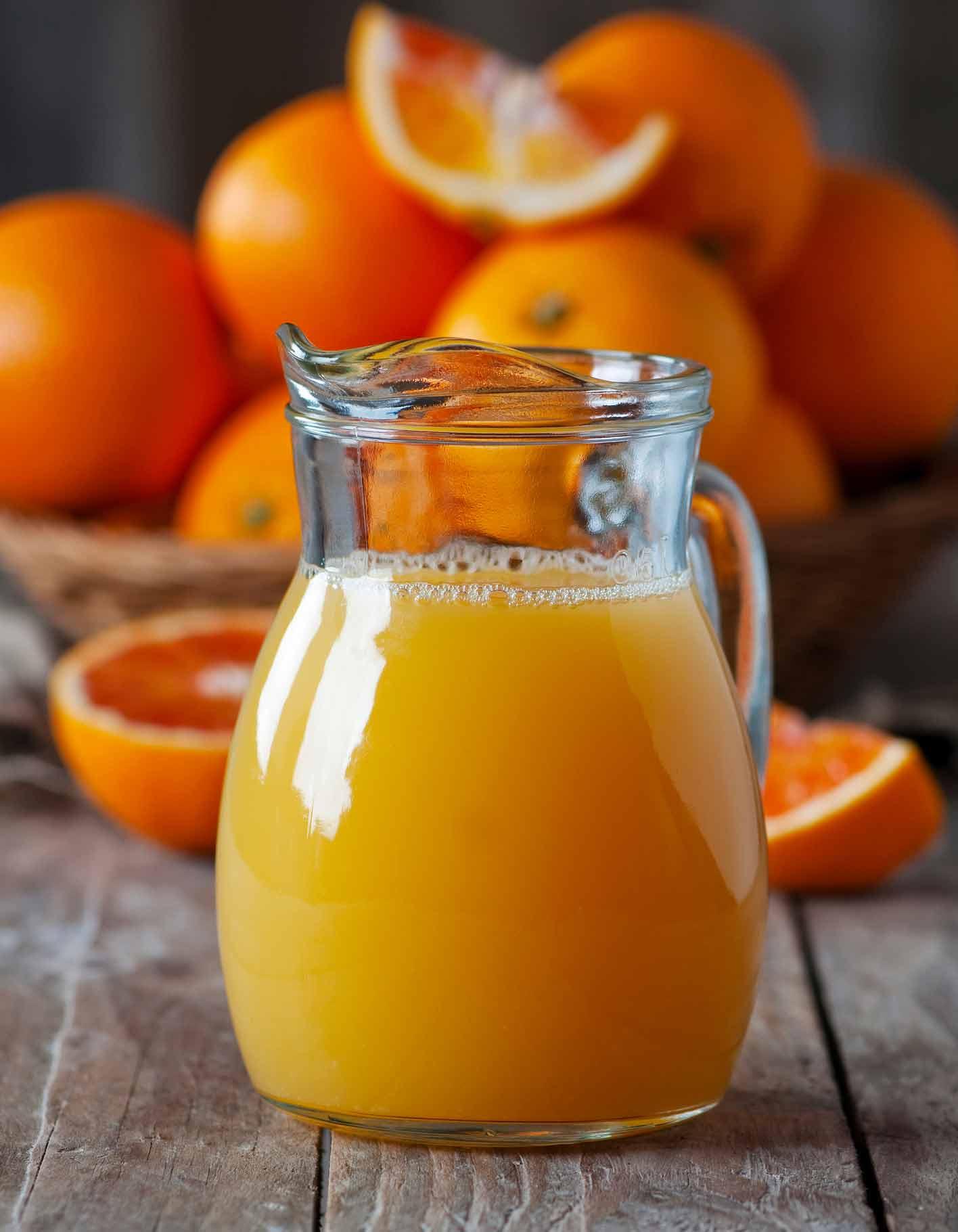 jus d orange thermomix pour 4 personnes recettes elle a table