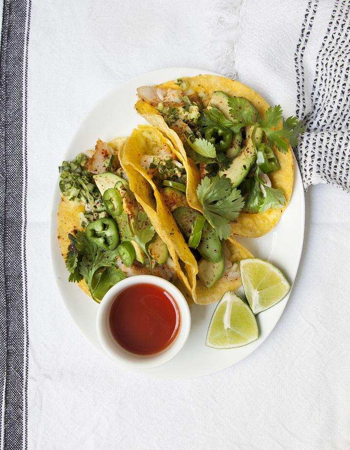 Tacos Au Poisson Salsa De Concombre Pour 4 Personnes