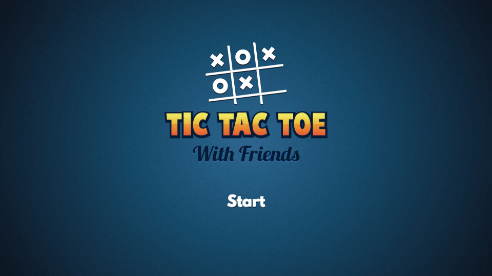Tic Tac Toe With Friends
