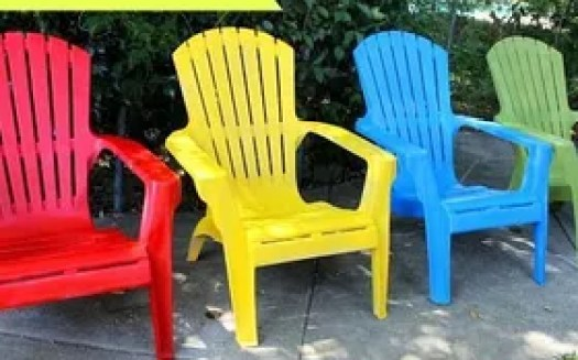 Paint Your Plastic Chairs Outdoor Furniture Living Painted