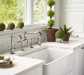 Farmhouse Sink: Stainless Steel or Cast Iron? | Hometalk on Farmhouse Countertops  id=94854