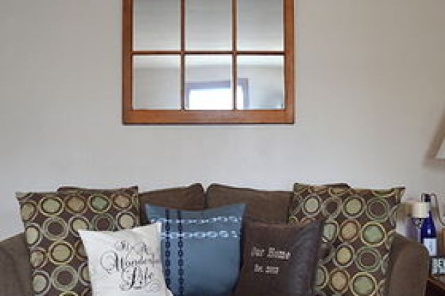 Diy Window Pane Mirror Upcycle Rustoleum Budget Home Decor Painting Repurposing