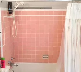 Peach Bathroom Decor