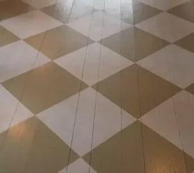 439 Foyer Painted Floor Makeover Hometalk