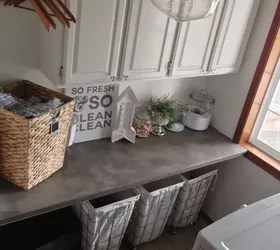 How To Decorate An Industrial Glam Laundry Room | Hometalk on Laundry Decoration  id=69225