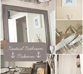 How To Style A Nautical Bathroom Makeover Hometalk