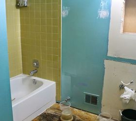 diy small bathroom renovation | hometalk