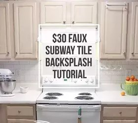 30 faux subway tile backsplash diy
