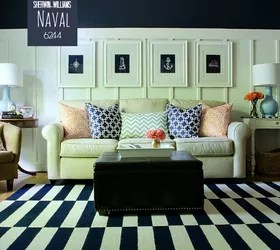 Board Batten Navy And White Living Room Hometalk Part 85