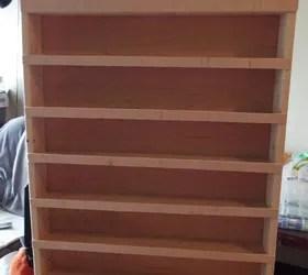 Diy Nail Polish Wood Rack Hometalk