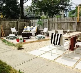 DIY Budget Backyard and Deck Makeover | Hometalk on Backyard Patios On A Budget id=71279