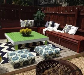 DIY Budget Backyard and Deck Makeover | Hometalk on Patio Makeovers On A Budget id=79069